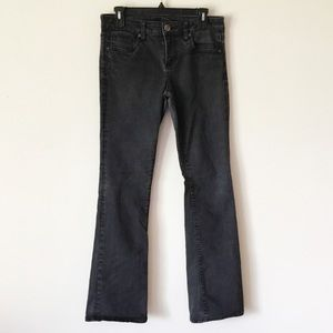 Kut from the Kloth Faded Black Farrah Baby Bootcut